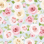 Link toRomantic roses background vector
