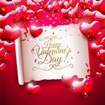 Link toRomantic valentine backgrounds vector