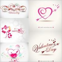 Link toRomantic valentine day graphics vector