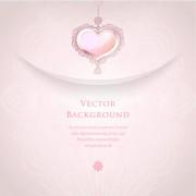 Link toRomantic wedding backgrounds vector 01