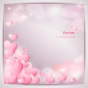 Link toRomantic wedding backgrounds vector 03
