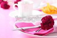 Link toRomantic western tableware hd picture