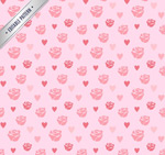 Link toRose love seamless background vector