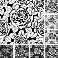 Link toRose pattern background 02 vector