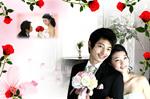 Link toRose valentines wedding psd