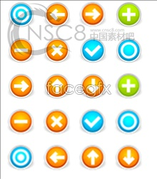 Link toRound button icons