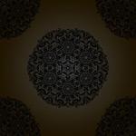 Round pattern shading vector