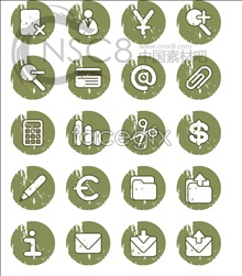 Link toRound retro style icons