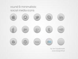 Link toRound social media icons