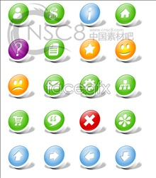Link toRound stereo web2.0 icons