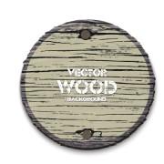 Link toRound wood board background vector 03 free