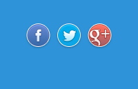 Link toRounded social buttons psd
