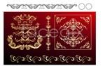 Link toRoyal lace pattern vector