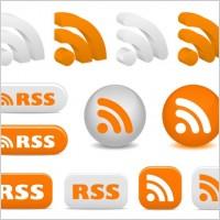 Link toRss feed icon vector