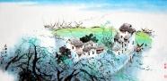 Link toRural landscape painting pictures