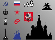 Link toRussian icons vector free