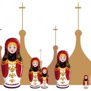Link toRussian style creative design vector 03 free