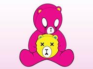 Link toSad teddy bear vector free