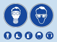 Link toSafety icons vector free