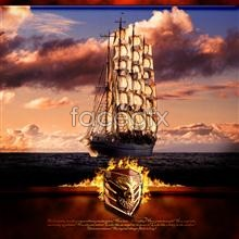 Link toSailing boats psd
