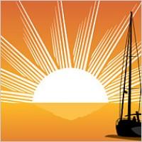 Link toSailing sunrise