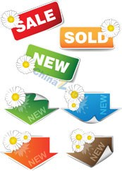 Link toSale sale tag vector templates