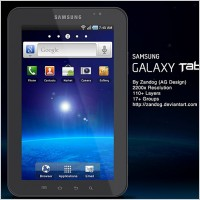 Link toSamsung galaxy tab p1000 psd