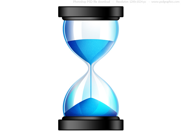 Link toSands of time, psd hourglass icon