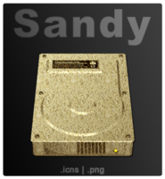 Link toSandy, the icon set.