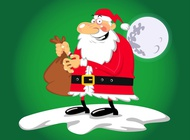 Link toSanta caricature vector free