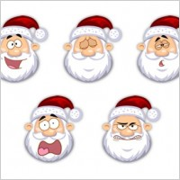 Link toSanta claus icons icons pack