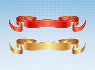 Satin ribbon vectors free