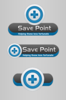 Link toSave point logo (blue) - contest entry