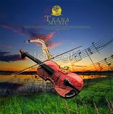 Link toSaxophone musical psd