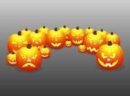 Link toScary pumpkins vector free