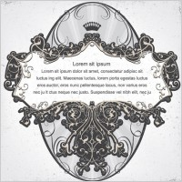 Link toScene when europeanstyle lace border vector pattern 5