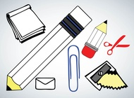 Link toSchool vector icons free