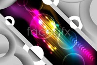 Link toSci-fi fancy background vector