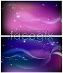 Link toScience and technology background vector
