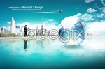 Link toScience and technology business talent 2 psd