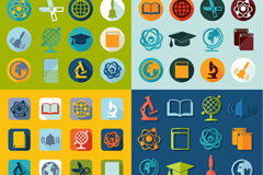 Science education 64 icon vector