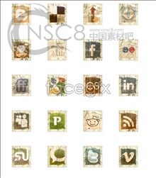 Link toScrap stamp desktop icons