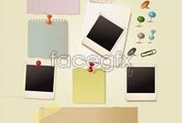 Link toScratch pad paper pin vector graphics