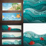 Sea underwater world vector