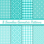 Link toSeamless background patterns vector