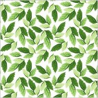 Link toSeamless leaf pattern vector background