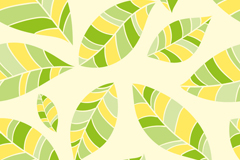 Link toSeamless vector background color leaves