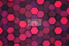 Link toSeamless vector background creative hexagon diagram