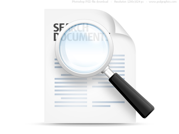 Link toSearch documents icon (psd)