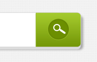 Link toSearch field with green button psd